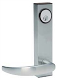 Schlage Commercial ND96BDELRHO626 ND Series Grade 1 Cylindrical Lock Rhodes Lever Design Satin Chrome Finish Storeroom Vandlguard